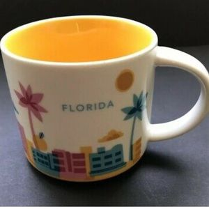 Starbucks You Are Here Collection YAH Florida 14oz